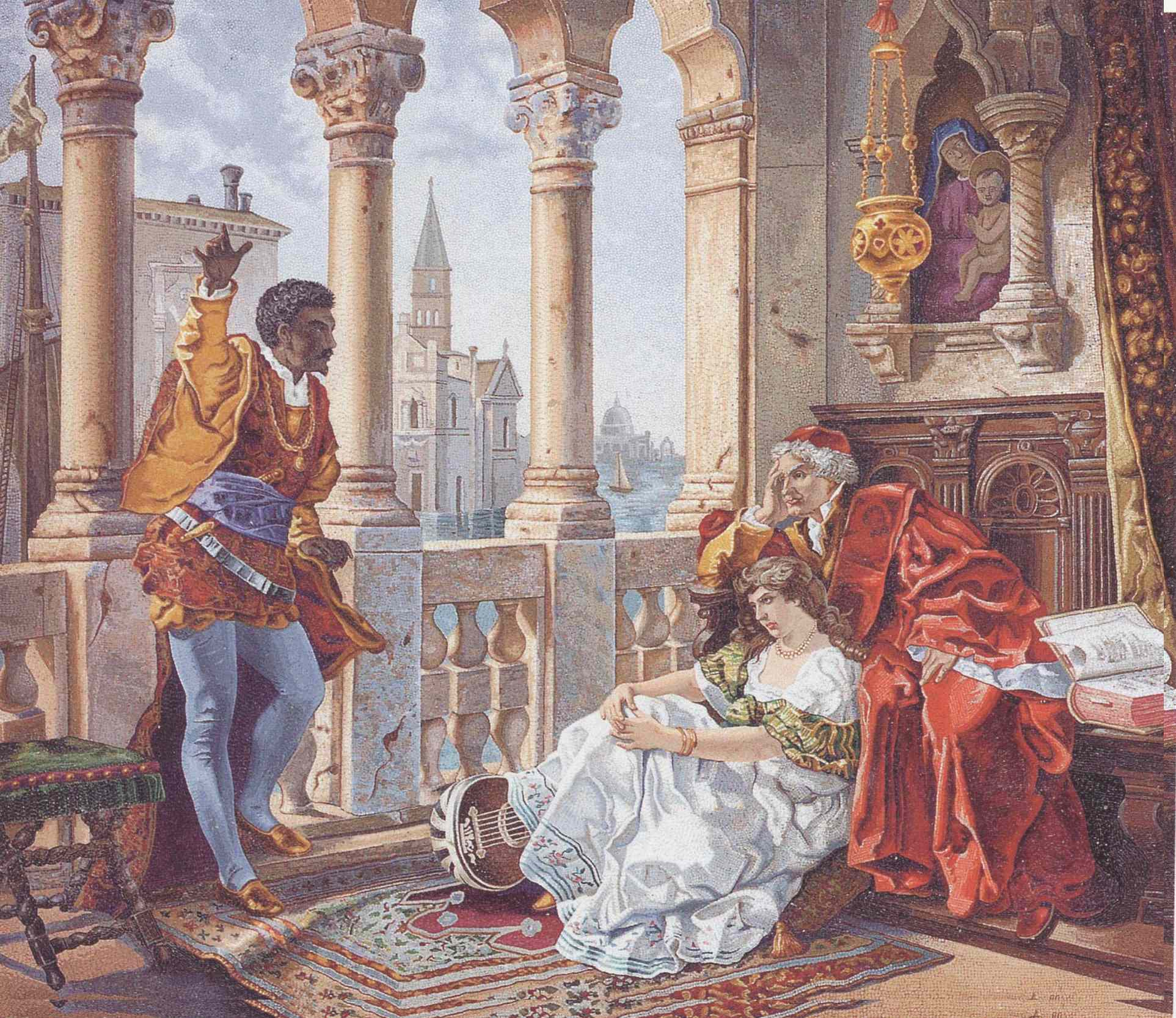othello by shakespeare critical response Home → sparknotes → shakespeare study guides → othello → study questions othello william shakespeare contents at the end of othello, desdemona seems to.